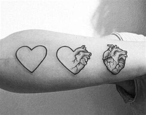 heart and anatomical heart tattoo venice tattoo art designs