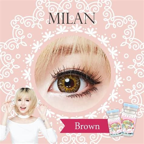 Softlens Sweety Cherry Yellow sweety milan brown sweety plus colored contact