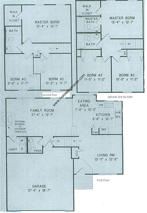 small split level house plans split level model in the heatherwood subdivision in lake