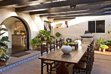 inside in spanish inside the former home of madonna and diane keaton 18 5 million luxurious spanish colonial