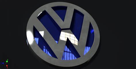 tutorial logo volkswagen logo volkswagen cars autodesk inventor 3d cad model