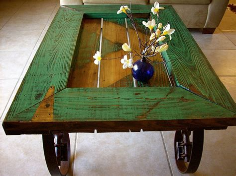 coffee table made from door barn door coffee table