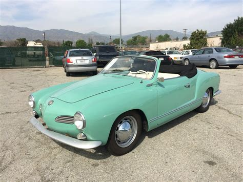 1965 Volkswagen For Sale by 1965 Volkswagen Karmann Ghia Convertible For Sale