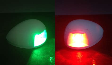 boat lights red marine boat green starboard red portside led navigation
