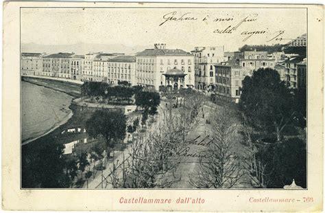 libreria corso vittorio emanuele napoli la storia delle cartoline a castellammare di stabia prima