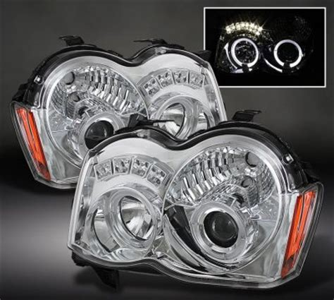 jeep grand cherokee 2008 2010 clear halo projector