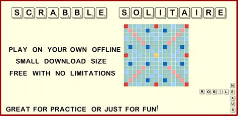 scrabble solitaire free scrabble solitaire co uk appstore for android