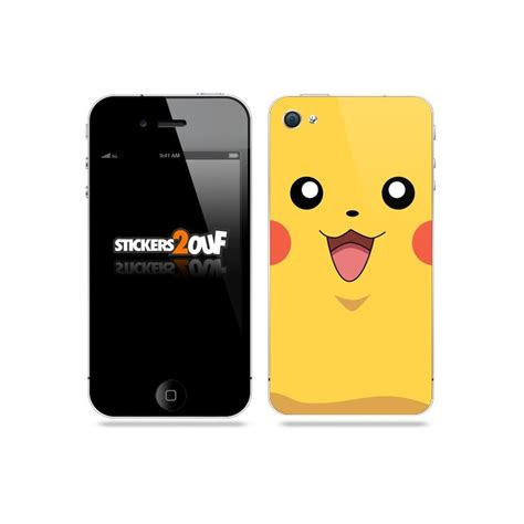 Hp Iphone S4 skin pikachu iphone 4 4s apple