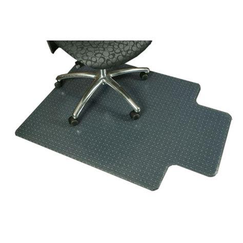 carpet chair mat bunnings axton pvc diplomat chairmat 1220x1525mm bunnings warehouse