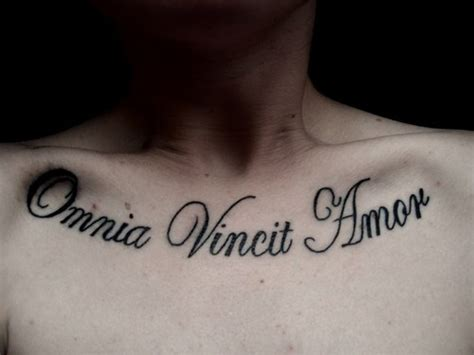 amor vincit omnia tattoo omnia vincit picture at checkoutmyink