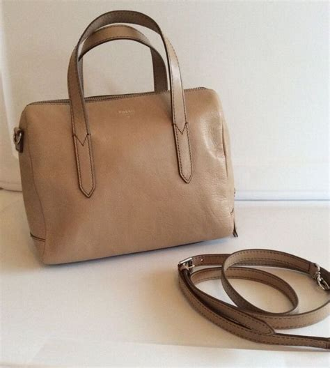 Fossil Neutral Satchel Nwt fossil sydney satchel taupe retail and satchels