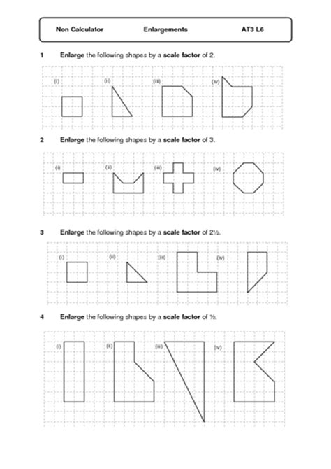 Dilations And Scale Factors Worksheet by Scale Factor Worksheets Worksheets Tutsstar Thousands Of