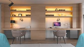 Home Office Design For Two Home Designing 36 Inspirational Home Office Workspaces