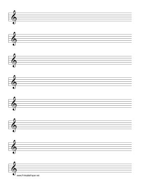 printable percussion staff paper this manuscript paper includes eight rows of five line