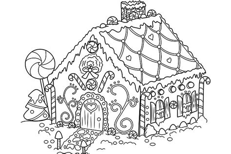 gingerbread house coloring pages printable gingerbread house coloring pages coloring me