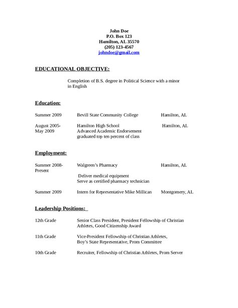 Resume Objective For by 2018 Resume Objective Exles Fillable Printable Pdf