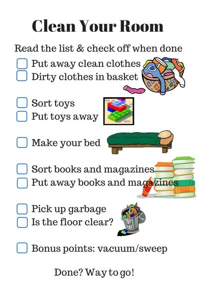 how to clean your bedroom for teenagers parenting checklist clean your room clean clean cleaning and child