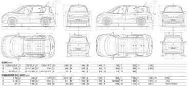 Renault Grand Espace Dimensions Renault Scenic 2009 Dimensions