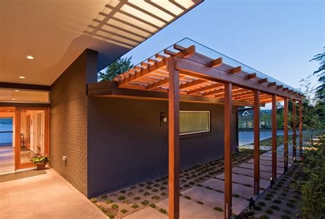Wood Awnings For Decks by Build Llc Des Moines 3 Photo Of Great Modern Covered Deck