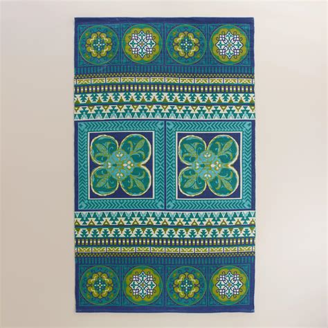 World Market Outdoor Rugs 5x8 Butterfly Reversible Indoor Outdoor Rug World Market