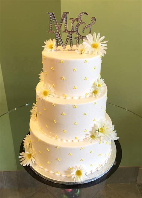 Swiss Dot Wedding Cake ? Classy Girl Cupcakes