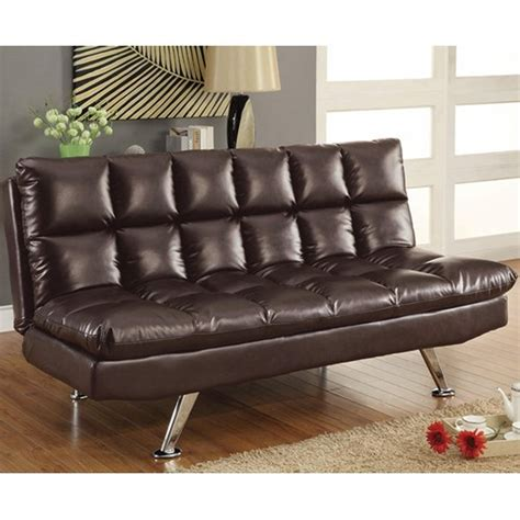 Coaster 300122 Brown Leather Sofa Bed Steal A Sofa Brown Leather Sofa Beds