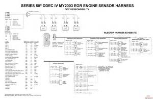 ddec iv sensor harness diagram get free image about wiring diagram