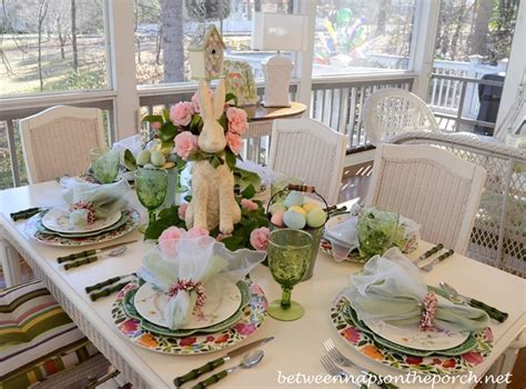 spring tablescape easter spring tablescape table setting