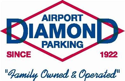 airport logo from diamond parking inc in salt lake city