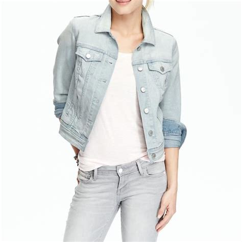 Light Wash Jean Jacket by Rank Style Navy Women S Denim Jackets In Light Wash