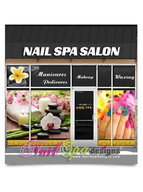 Window Decals For Nail Salon by Nail Salon Window Decals Nail Designs Salon Nail Small