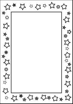 star border coloring page free printable page borders for kindergarten book corner
