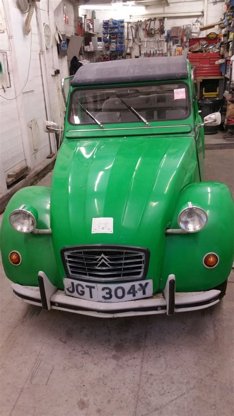 Citroen Garage Guildford by Autopride Classic Car Restoration Guildford Surrey