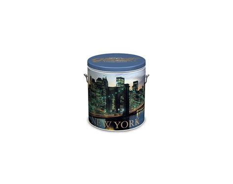 Garrett Popcorn Plain 1 Gallon Tin 27 best images about garrett popcorn tins on parks chicago skyline and the o jays