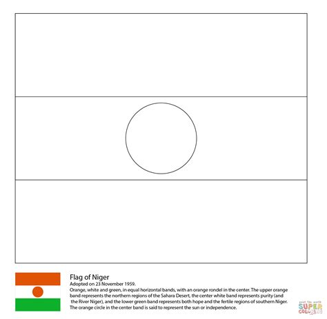kenya flag coloring page gallery