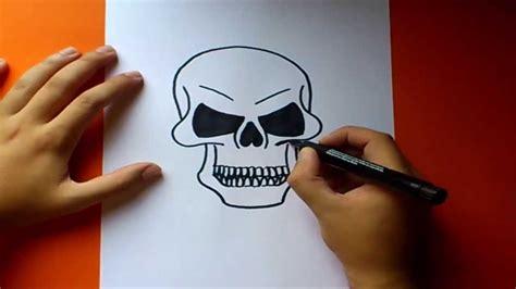 imagenes de calaveras y calabazas como dibujar una calavera paso a paso how to draw a