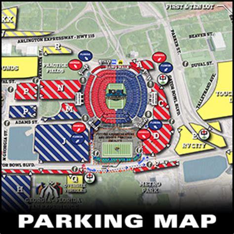 uga parking map uga football florida information field forum