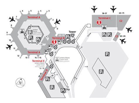 tegel terminal e plan et carte des a 233 roports et terminaux de berlin