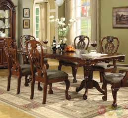 Elegant Dining Room Set brussels traditional formal dining room set 9 piece w