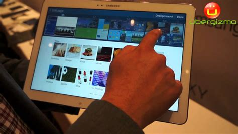 Tablet Mito 9 Inchi samsung galaxy note pro12 2 inch android tablet demo at ces 2014