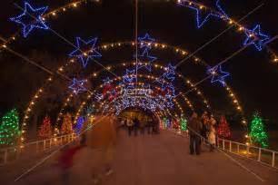 zilker park trail of lights starry tunnel