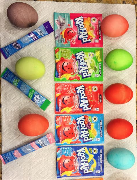 how to color eggs with kool aid how to color easter eggs save money with kool aid plus