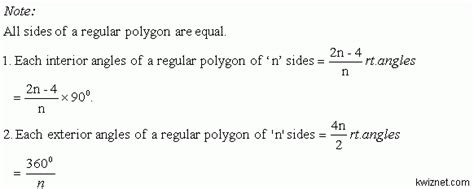 Sum Of Interior Angles Of A Nonagon by Theorem Sum Of The Interior Angles Of A Convex Polygon Geometry Kwiznet Math Science