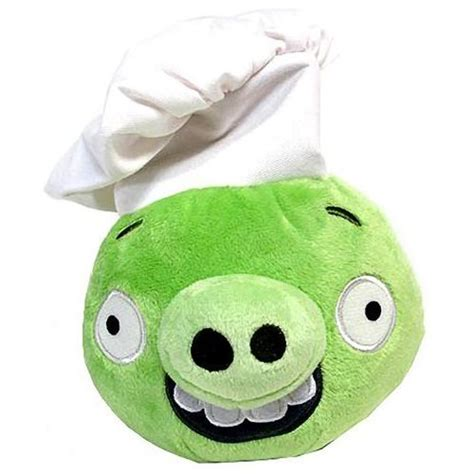 angry birds pigs 6 mini plush figure pig chef hat cool gifts kids store today