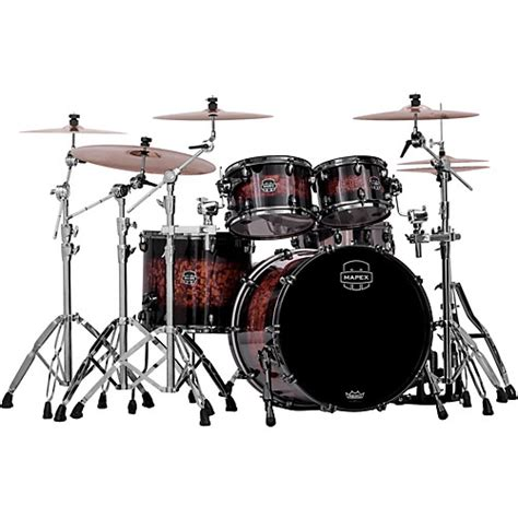 mapex saturn iv mapex saturn iv 4 shell pack with bass