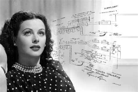 On Table by Hedy Lamarr Invented Early Wireless Technology