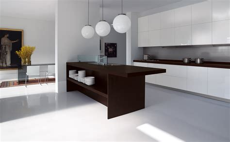 simple contemporary kitchen interior design one