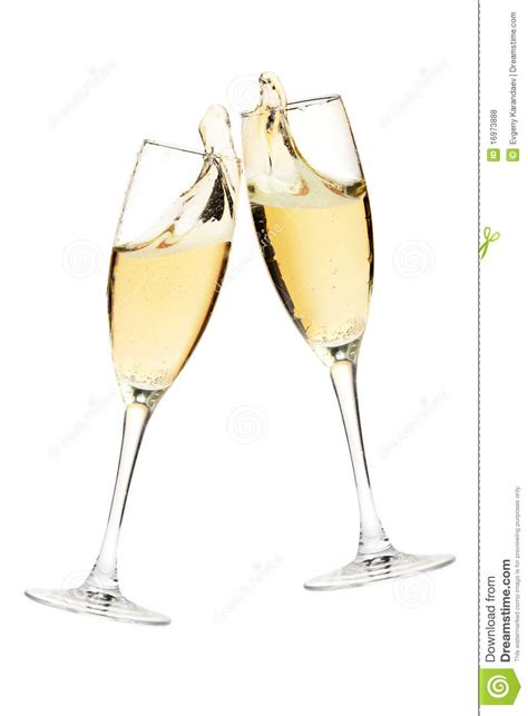glasses cheers cheers two chagne glasses stock photo image of glass