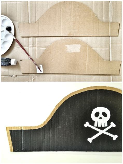 How To Make Pirate Paper - the pirate hat one of our favourite craft ideas for children