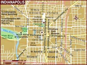 Indianapolis Map Usa by Map Of Indianapolis